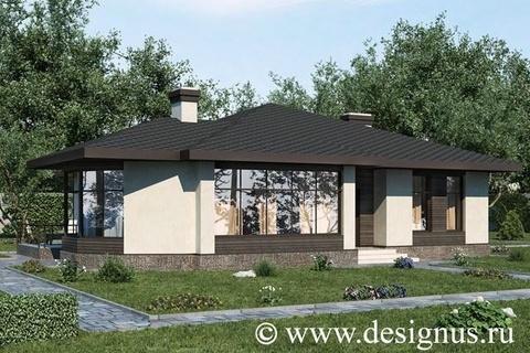 """Одноэтажный дом """"Original"""" 176 кв.м."""