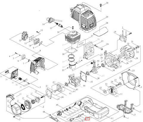 Трубка топливная основная для лодочного мотора T3,5 Sea-PRO