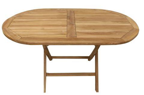 Садовый складной стол Sundays TGF-221, 140*80см, тик