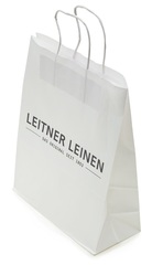 Пакет 26х11х36 Leitner Bag белый