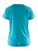 Женская спортивная футболка для бега Craft Prime Run 1903174-2653 голубая
