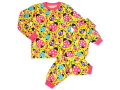 BK580K-6 пижама детская, желтая
