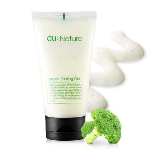 CU SKIN Пилинг-скатка с экстрактом брокколи CU:NATURE Broccoli Peeling Gel 100 мл