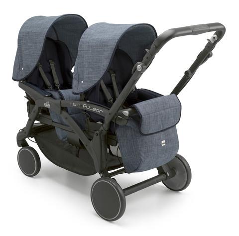 Прогулочная коляска для двойни Cam Twin Pulsar