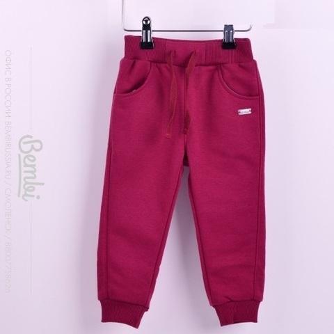 ШР428 Спортивные брюки для девочки с начесом
