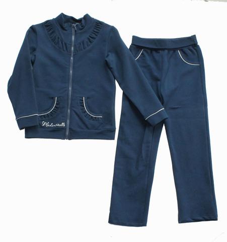 Basia Комплект для девочки 12-554-024 темно-синий