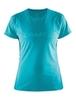 Женская футболка для бега Craft Prime Run 1903174-2653 голубая фото