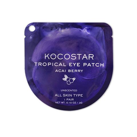 KOCOSTAR | Гидрогелевые патчи для глаз Тропические фрукты (2 патча/1 пара) (Ягоды Асаи), (3 г)