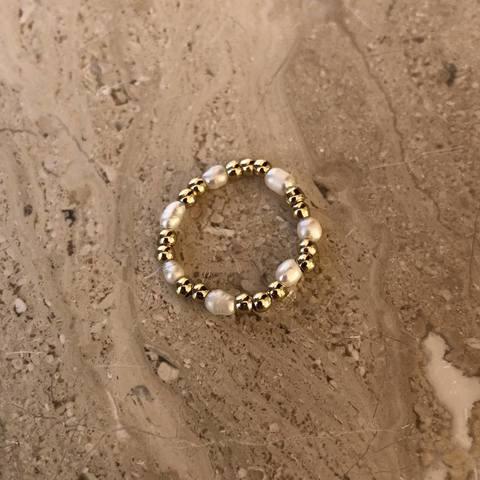 Кольцо Альгера, позолота