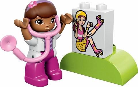 LEGO Duplo: Скорая помощь Доктора Плюшевой 10605