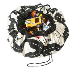 Мешок для игрушек Play&Go Print ДОРОЖНАЯ КАРТА