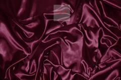Ткань метражом Silky (вишневый) люкс-сатен однотонный