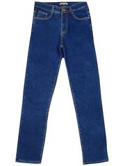 V9303 джинсы женские, утеленные, синие