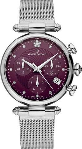 Купить женские наручные часы Claude Bernard 10216 3 VIOP2 по доступной цене
