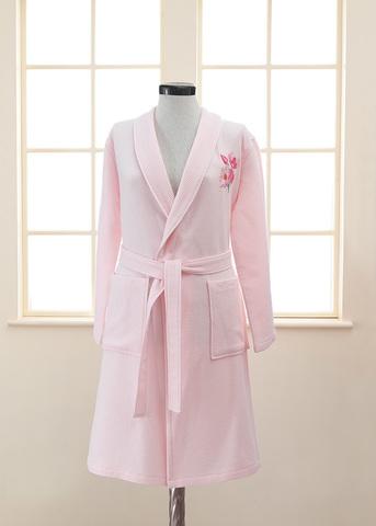 ANEMON вафельно-махровый женский халат Soft Cotton (Турция)