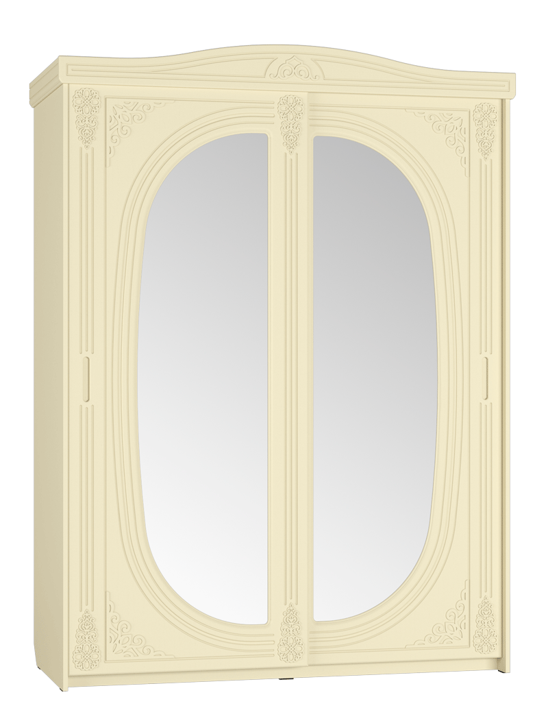 АС-16 Шкаф купе зеркало Ассоль Плюс
