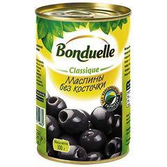 "Маслины""Bonduelle"" без косточек 314мл"