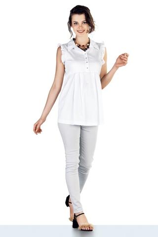 Блузка для беременных 10221 белый