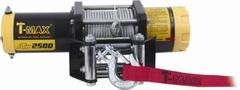 Лебедка электрическая T-max ATW-2500 тяговое усилие 1135 кг.
