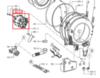 Электродвигатель (мотор) для стиральной машины Whirlpool (Вирпул) 481936158276