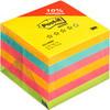 Стикеры Post-it 654-RNBW радуга плюс  76х76, 4 цвета, 6 бл.х100 л.