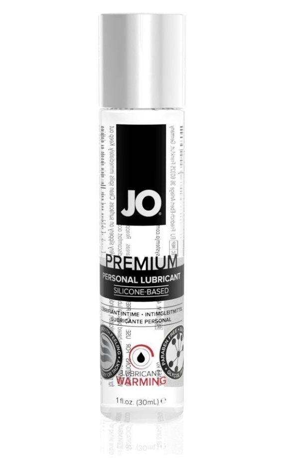 Возбуждающие: Разогревающий лубрикант на силиконовой основе JO Personal Premium Lubricant Warming - 30 мл.