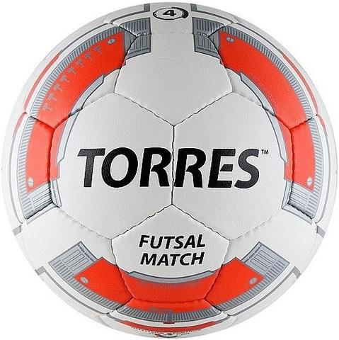 Мяч для мини-футбола, футзальный TORRES Futsal Match № 4