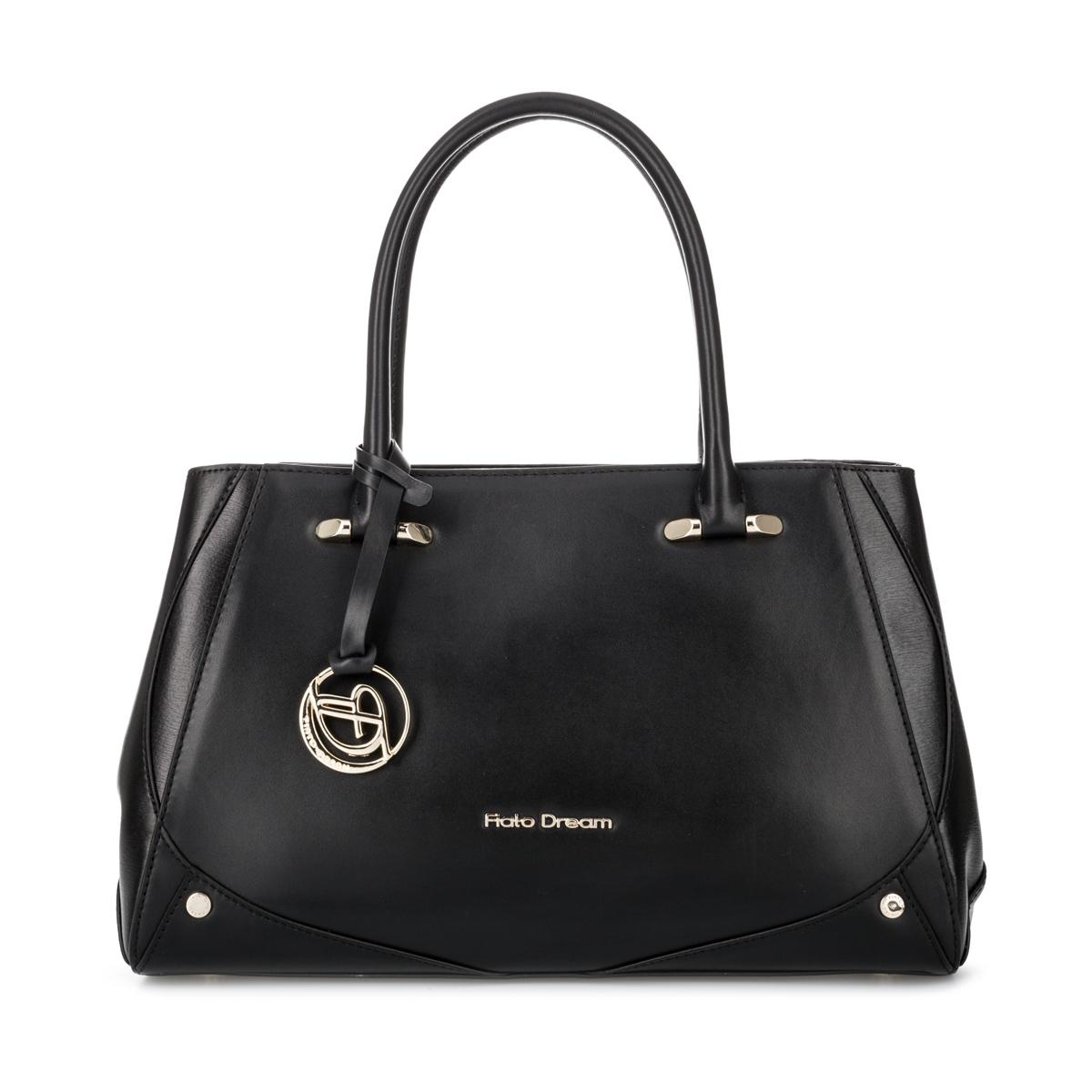 2618 FD кожа черный  (сумка женская)