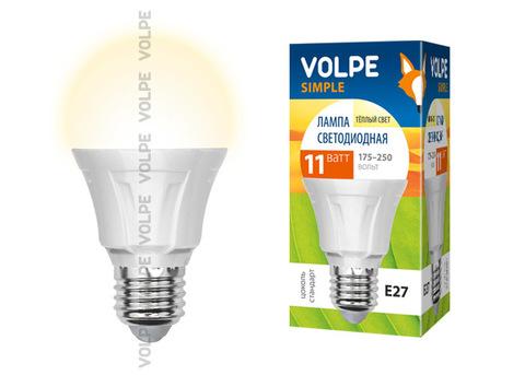 LED-A60-11W/WW/E27/FR/S Лампа светодиодная Volpe. Форма