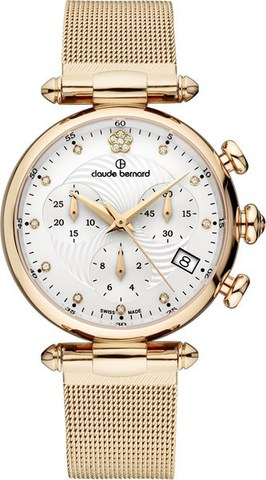 Купить Женские швейцарские наручные часы Claude Bernard 10216 37R APR2 по доступной цене