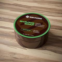 Мыло для бритья Squadro Lemongrass-Vetyver 150гр