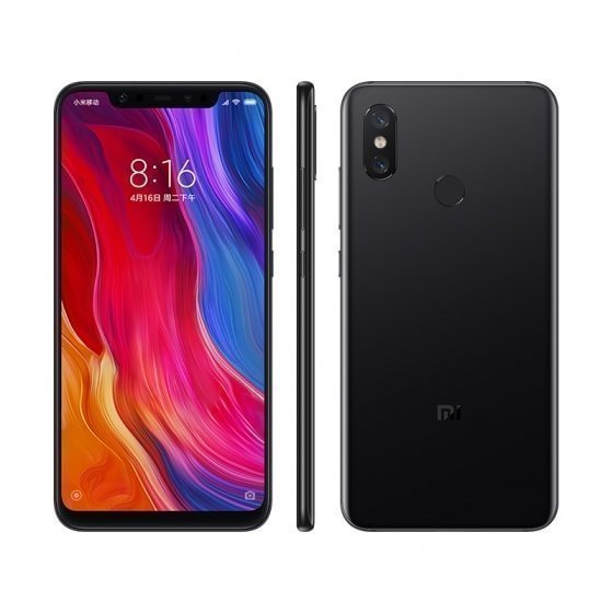 Xiaomi Mi 8 6/128Gb Black (Global Version)