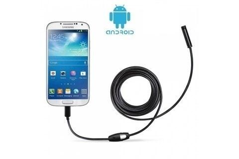 Эндоскоп Гибкая камера USB для Android и PC 5 метров (для смартфона)
