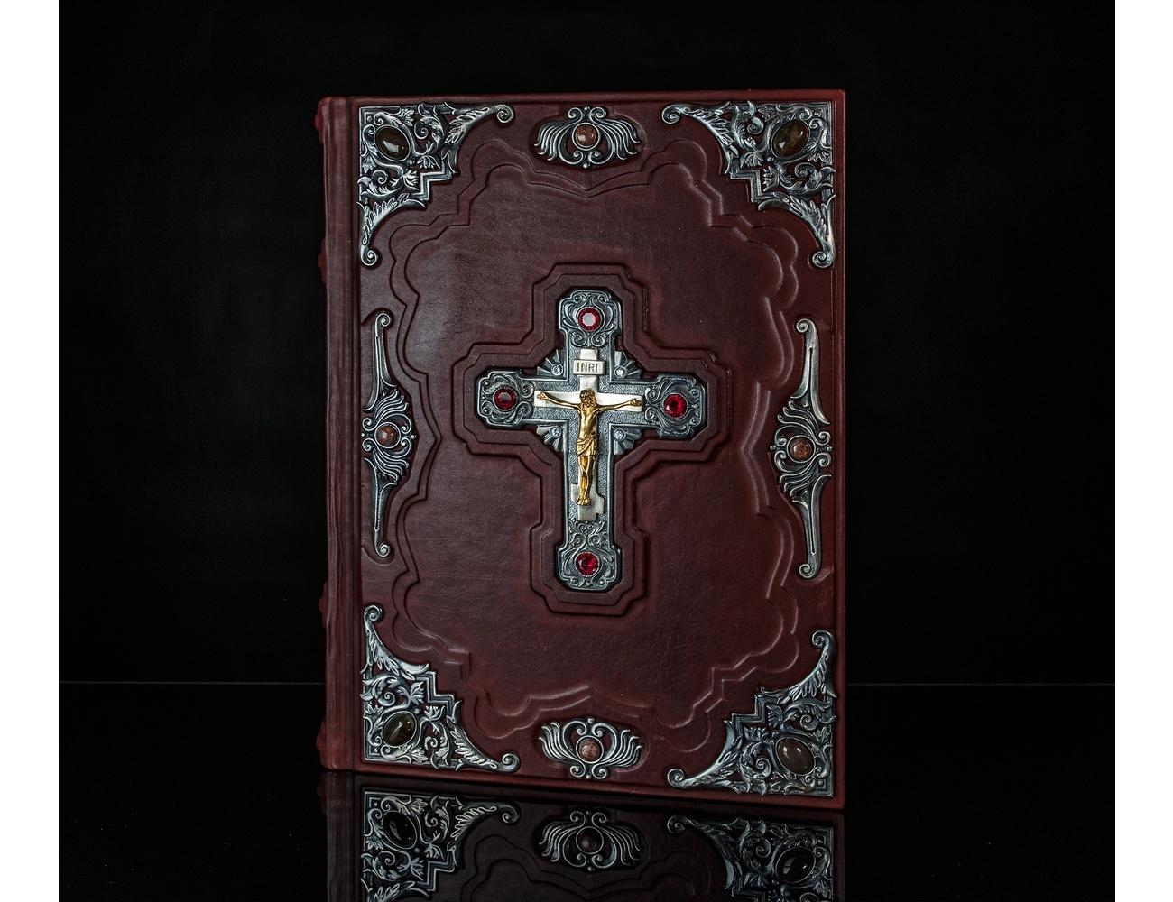 Библия с иллюстрациями Доре (посеребрённые накладки) Большой формат от 26 000 руб
