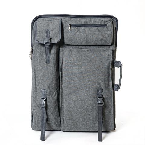 Сумка-рюкзак для художественных принадлежностей, серый цвет
