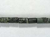 Бусина из яшмы Kambaba, фигурная, 4x6 мм (цилиндр, гладкая)