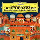 Nikolai Rimsky-Korssakoff, Boston Symphony Orchestra, Seiji Ozawa / Scheherazade (LP)