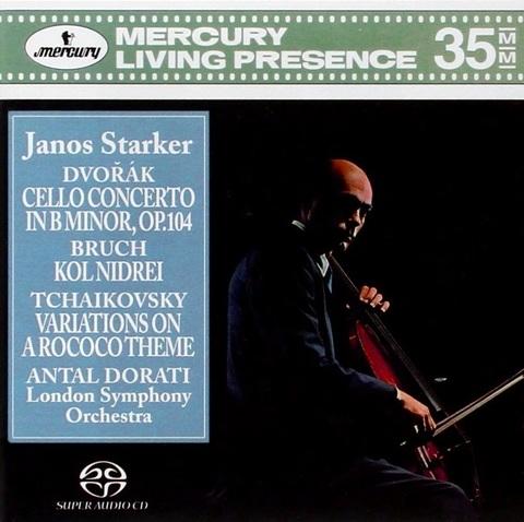 Janos Starker, London Symphony Orchestra, Antal Dorati / Dvorak, Bruch, Tchaikovsky (SACD)