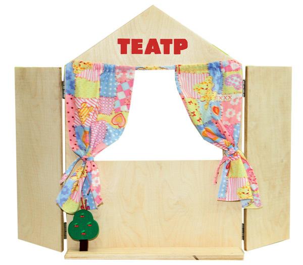 Краснокамская игрушка Ширма для кукольного театра