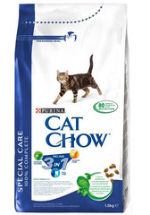 Cat chow 3in1 15кг.
