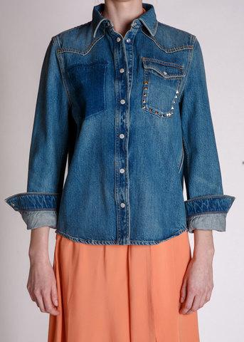 Рубашка джинсовая VALENTINO