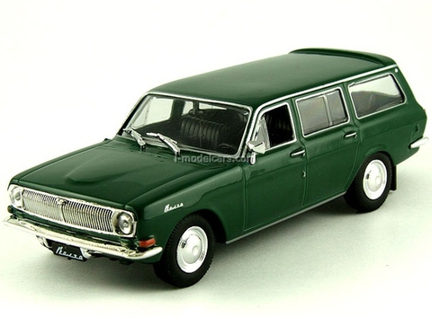 GAZ-24-02 Volga dark green 1:43 DeAgostini Auto Legends USSR #71