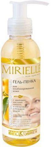 Гель-пенка для комбинированной кожи с эфирными маслами лимона и апельсина и розовой водой для ежедневного умывания