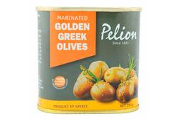 Золотые маринованные оливки