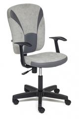 Кресло компьютерное Остин (Ostin) — серый/серый (Мираж грей/TW-12)