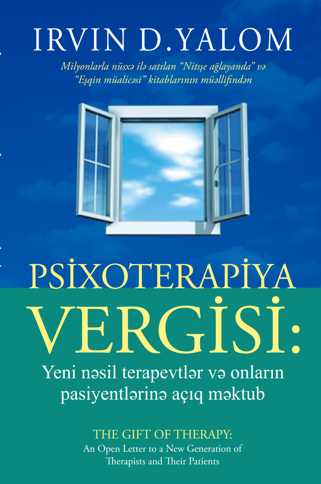 Kitab Psixoterapiya vergisi | Irvin D. Yalom