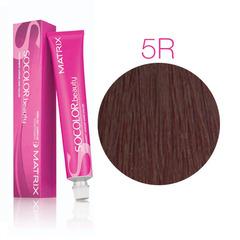 Matrix Socolor Beauty 5R Светлый шатен красный, стойкая крем-краска для волос 90 мл
