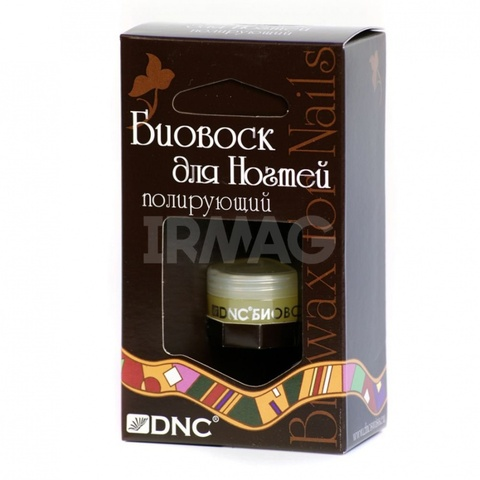 DNC Биовоск для ногтей Полирующий 6мл