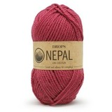 Пряжа Drops Nepal 8910 малина