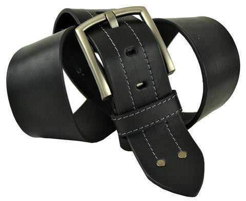 Мужской кожаный широкий ремень 50millen-001